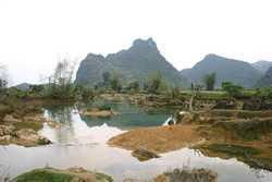 Landscape in Da Tian