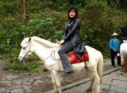 Li Yun on Ma(horse)