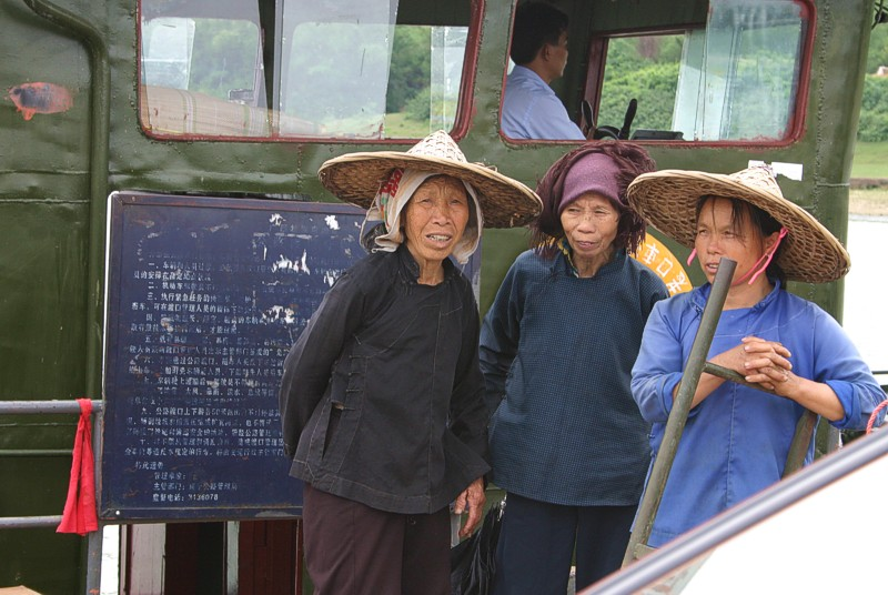 Women make up 65% of China's farm work force.