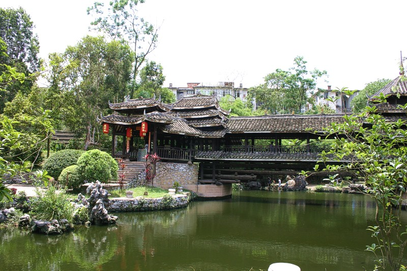 Wen Wu Yuan Bridge