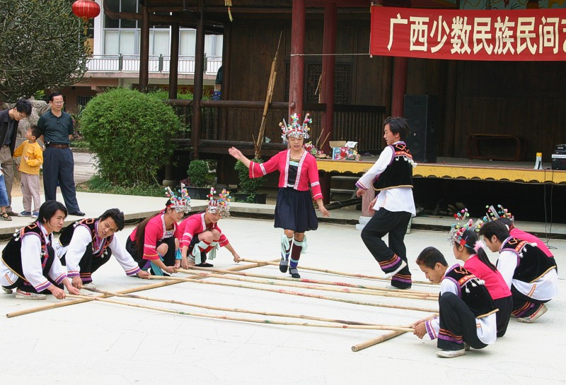 Youth performing Dragon Dance