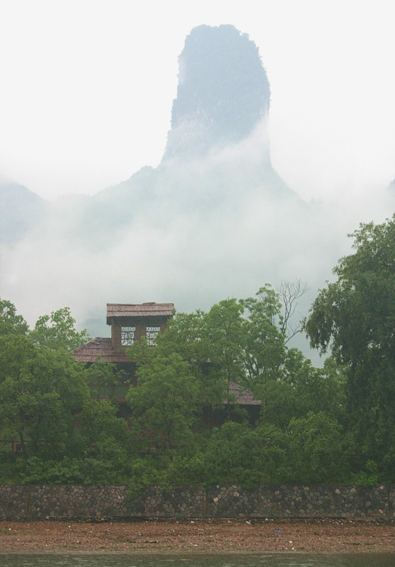Majestic limestone peak
