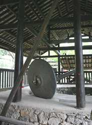Rice Grist Mill Wheel,
