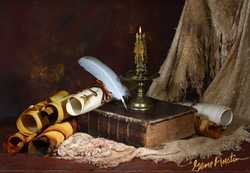 Ancient Parchment Scrollsand ManuscriptsIMG 9554