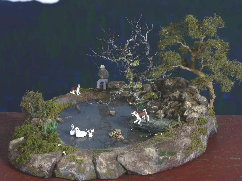 Fishing pond 2132