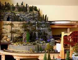 Sunrise Mountain on Grandpa's wine cellar toy trainswinecellartrains.comIMG 1445a