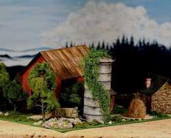 diorama farm 0326The Old Farm House