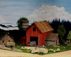 diorama farm 0329The Old Farm House