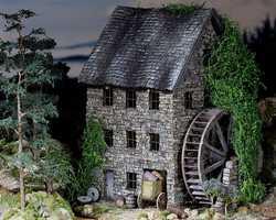 Old Pine Ridge Milldiorama pinehouse 0502