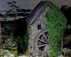 Old Pine Ridge Milldiorama pinehouse 0509