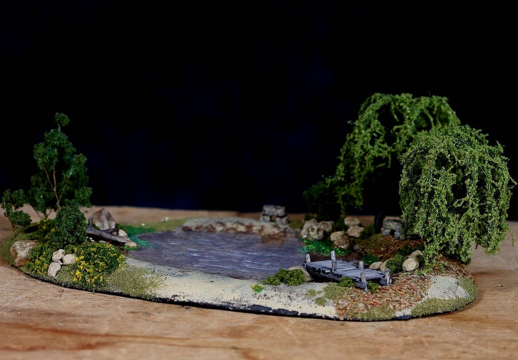 diorama pond 0314The Old Swimming Hole