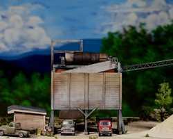 diorama sand 0334F & M DiMaggioSand & Gravel plantParamus, NJ