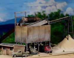 diorama sand 0336F & M DiMaggioSand & Gravel plantParamus, NJ
