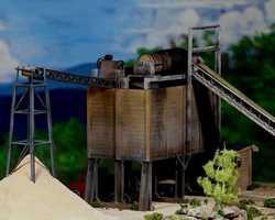 diorama sand 0342F & M DiMaggioSand & Gravel plantParamus, NJ