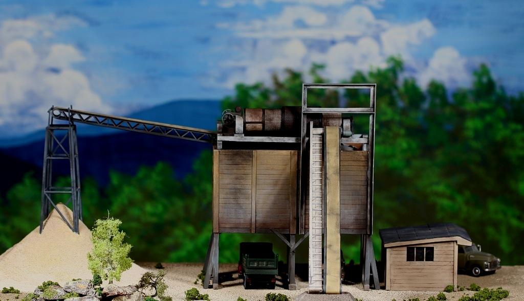 diorama sand 0344F & M DiMaggioSand & Gravel plantParamus, NJ