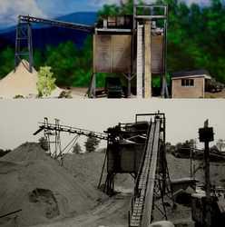 F and M DiMaggio Sand plant