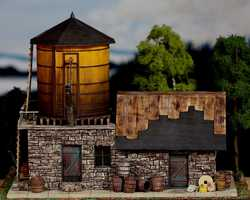 diorama water 0304Water tower station