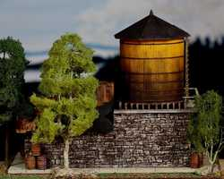 diorama water 0307Water tower station